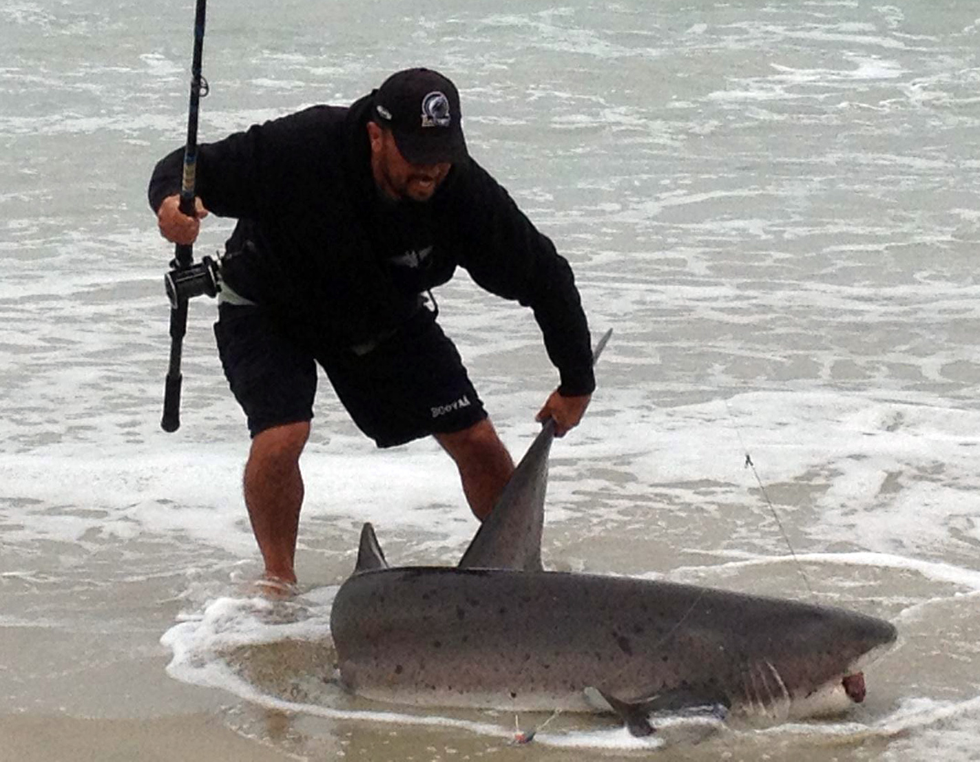Big game socal surf fishing for Surf fishing southern california