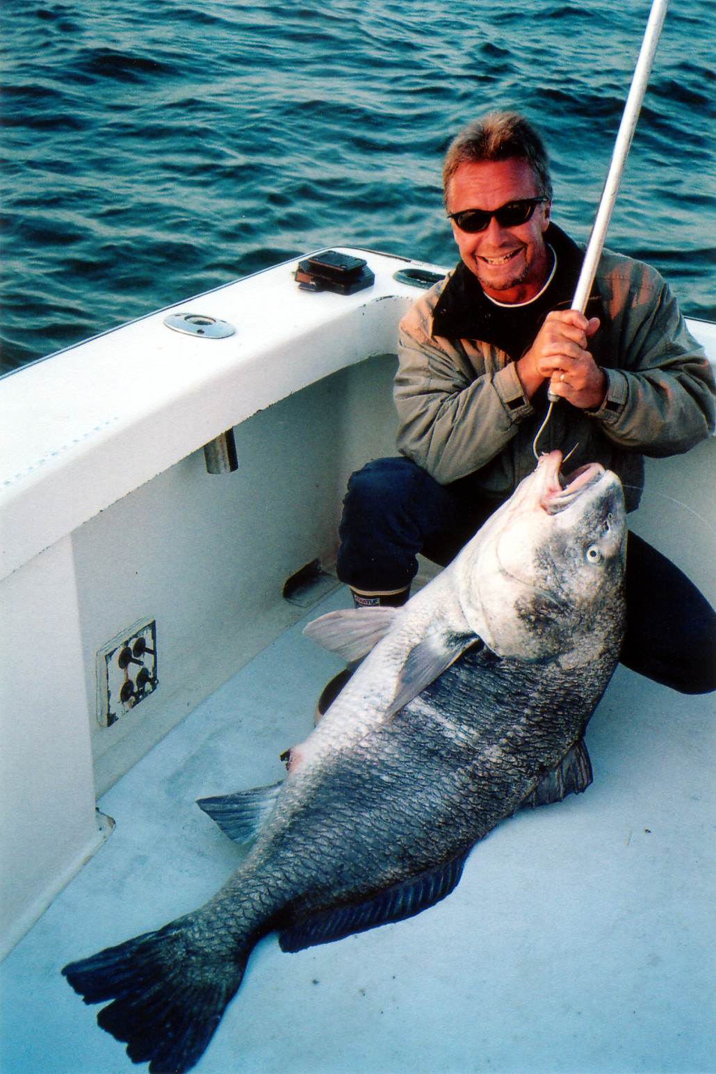 Rodger the Dodger with a beautiful Black Drum - Released